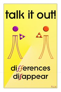 talk,it,out,differences,disappear,