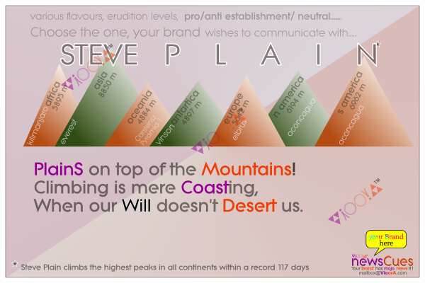Steve,Plain,mountain,summit,seven,continents,record,time,117,days,Everest,